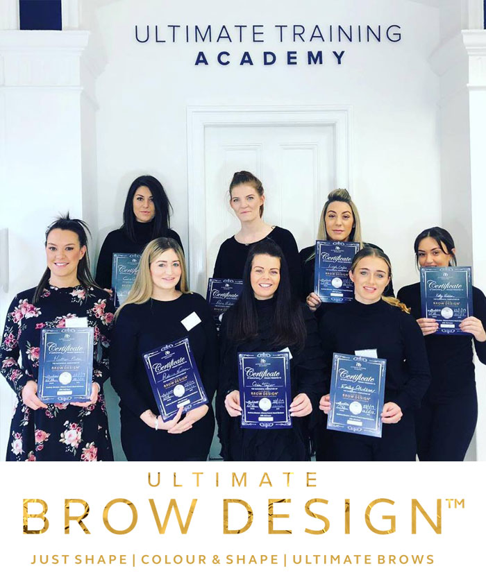 Ultimate Brows Training Course Attendees